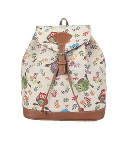 Country Style Rucksack Eulen