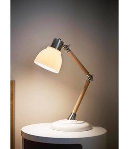 Tischlampe Porzellan