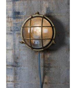 Landhaus Messing-Gartenlampe Hugh