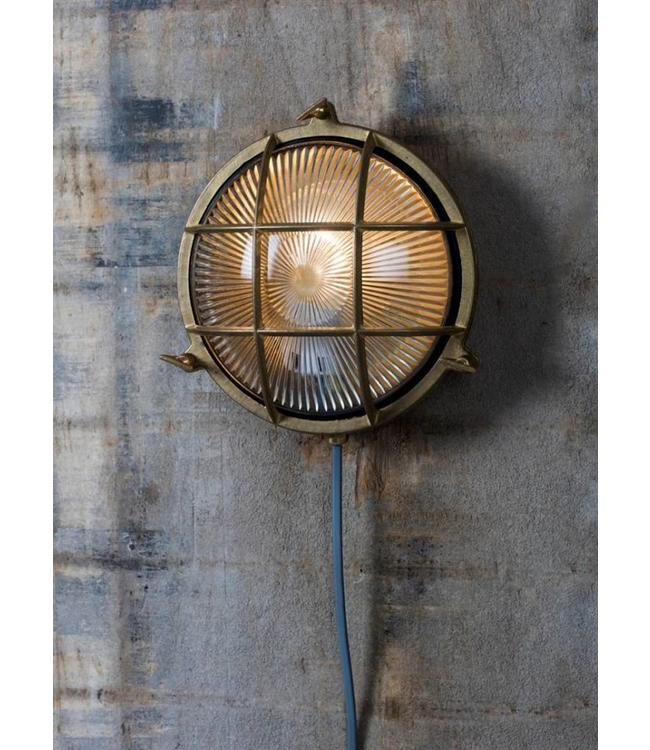 Messing-Gartenlampe Hugh