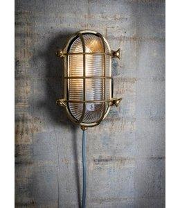 Gartenlampe Messing