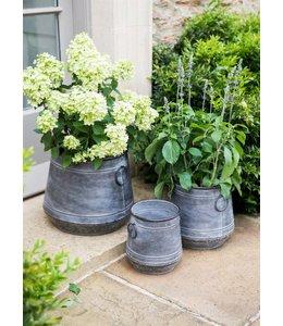 Shabby Chic Pflanztöpfe Heritage 3er-Set ♛ Englischer Landhausstil