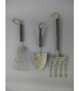 Gartenwerkzeuge Antik Deko ♥ Landhausstil