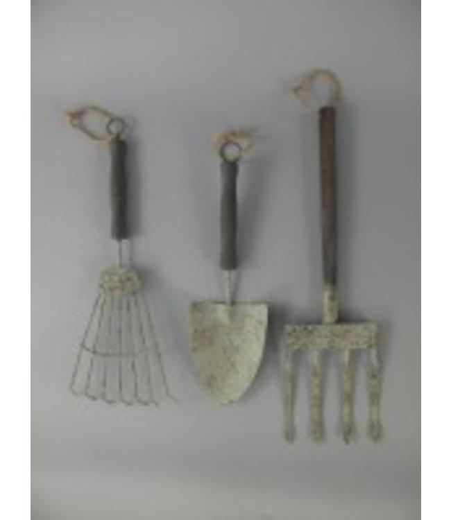 Gartenwerkzeuge Antik Deko ♥ Landhausstil - Villa Jähn