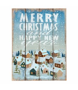 Dekoschild Merry Christmas ♥ Landhausstil