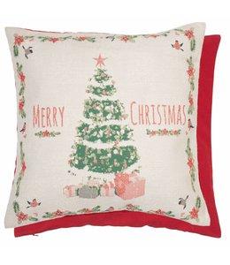 Shabby Chic Kissen Weihnachtsbaum 45x45