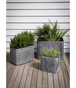 Garten Pflanzkübel aus England - 3er Set im englischen Landhausstil