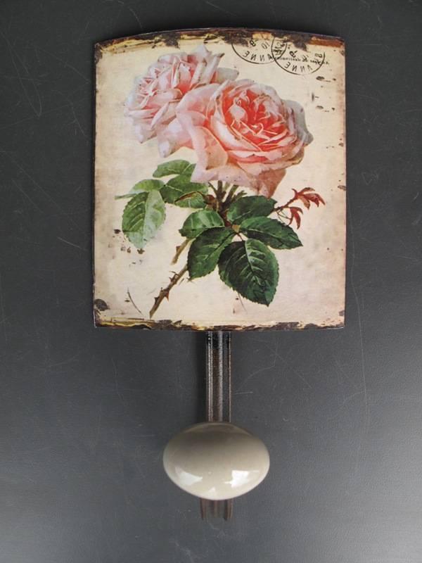 villa j hn landhaus wandhaken englische rosen nostalgisch villa j hn garten wohnen im. Black Bedroom Furniture Sets. Home Design Ideas