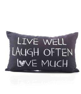 Dekokissen Live, Laught & Love ♥ Landhausstil