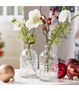 Blumenvasen Landhausstil Glasvase
