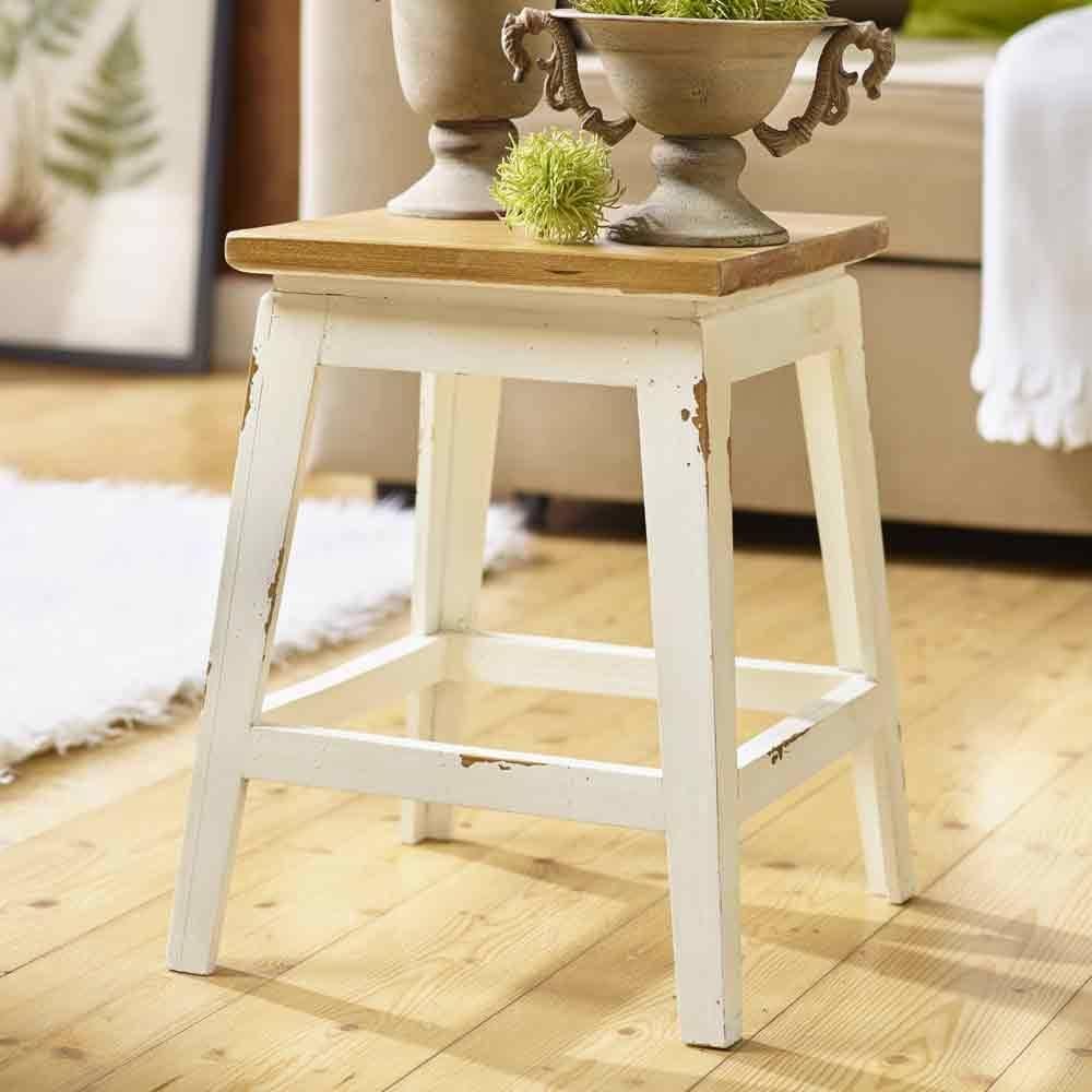 hocker oder beistelltisch f r den wintergarten villa j hn. Black Bedroom Furniture Sets. Home Design Ideas