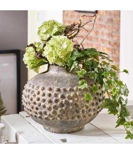 Landhaus Blumenvase Keramik