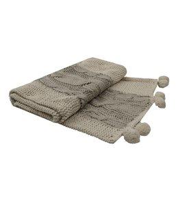 Decken Decke mit Poms