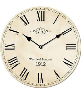 Landhaus Wanduhr Westfield London 1912