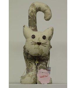 Shabby Chic Türanschlag Katze Landhausstil
