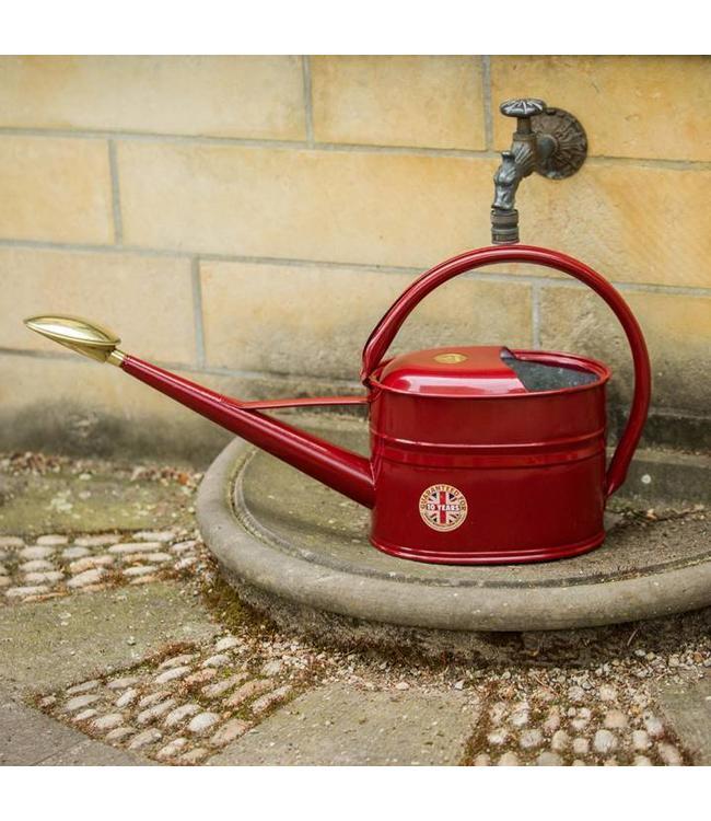 Haws Gießkanne Slimcan 5 Liter, Burgundy