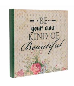 Shabby Chic Geschenkbox - Schachtel in Buchform
