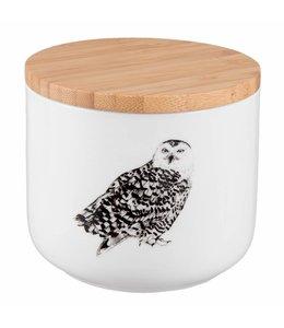 Landhausstil Vorratsdose Keramik Eule