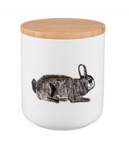 Landhaus Vorratsdose Keramik Hase