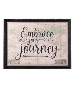 Wandbild Embrace your journey