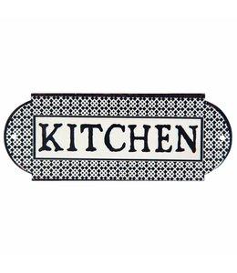 Türschild Kitchen - Landhausstil
