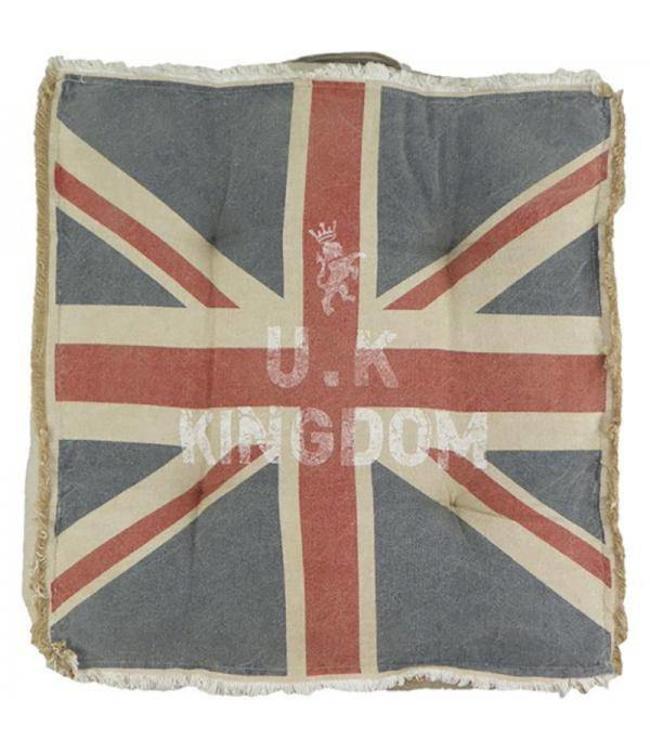 Sitzkissen Union Jack Vintage
