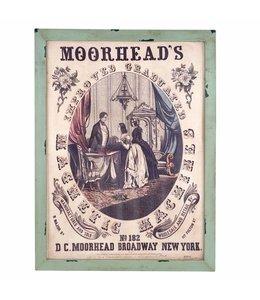 Landhaus Wandbild Moorheads