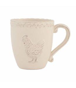 Landhaus Kaffeebecher Huhn