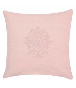 Kissenhüllen Landhausstil Kissenhülle rosa 40x40