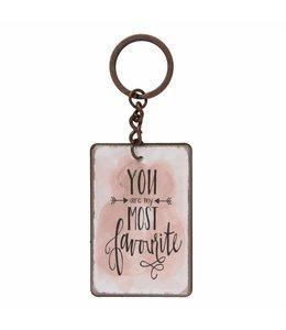 Schlüsselanhänger Favourite
