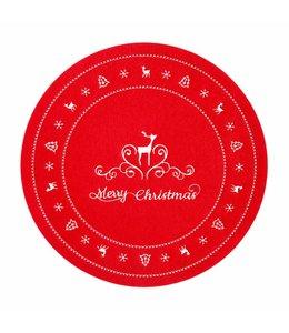Landhaus Platzdeckchen Merry Christmas - 4er Set