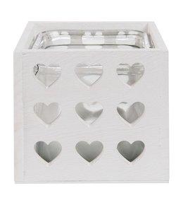 Teelichthalter Herzen - 2er Set