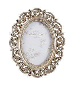 Fotorahmen Antik Silber