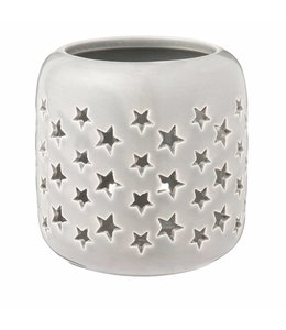 Landhaus Teelichthalter Sternenzauber - 2er Set