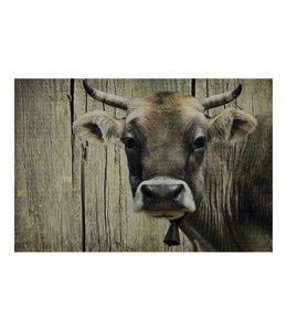 Garten Fußmatte Schweizer Kuh