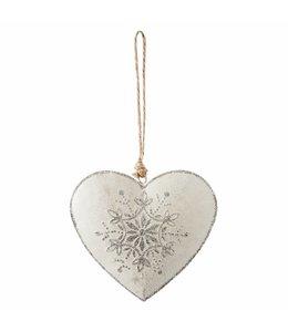 Anhänger Herz Silber - 6er Set