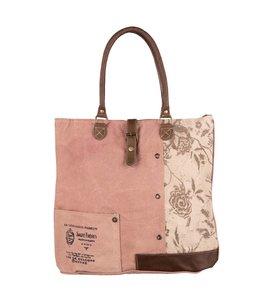 Garten Shopper Vintage Rosen