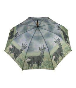 Landhaus Regenschirm Rehbock