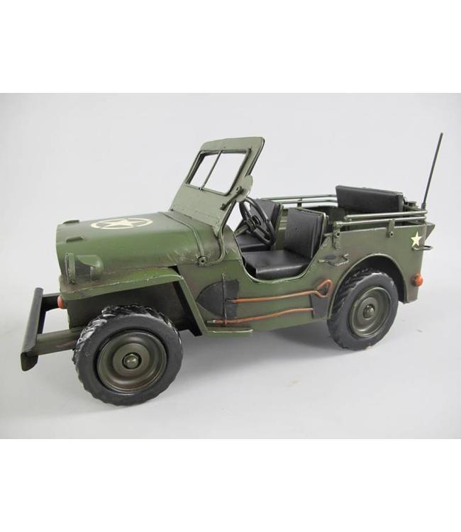 Antikes Motorfahrzeug Jeep