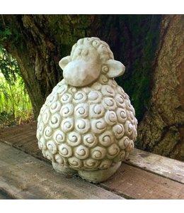 Steinfigur Schaf