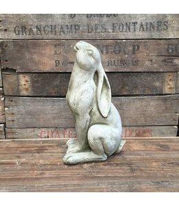 Steinfiguren für den Garten Steinfigur Hase