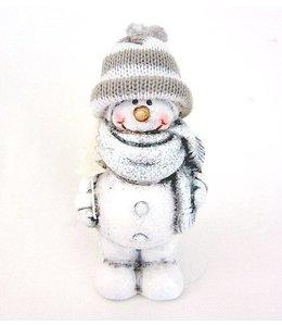 Weihnachtsdekoration Schneemann mit Mütze