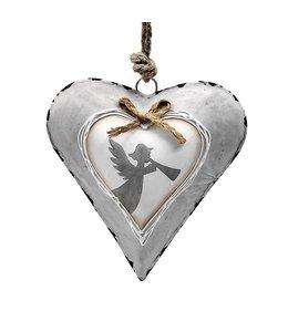 Anhänger Herz mit Engel