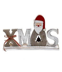 Weihnachtsdekoration Aufsteller XMAS Landhausstil