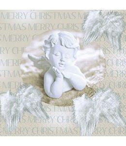 Servietten Weihnachtsengel - Merry Christmas