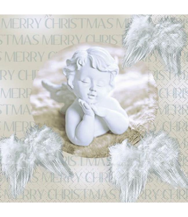 Servietten Servietten Weihnachtsengel - Merry Christmas