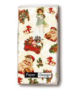 """Taschentücher """"Weihnachtssticker"""" für Gartenfreunde"""