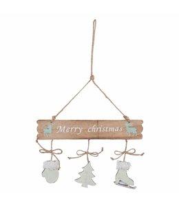 """Hänger """"Merry Christmas"""""""