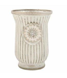 Teelichthalter silber