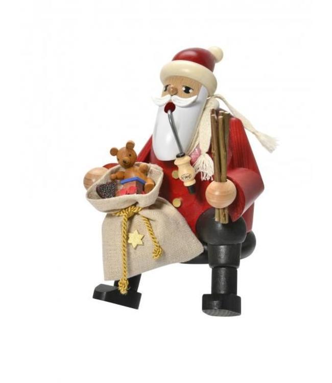 KWO Räuchermann Weihnachtsmann Kantenhocker